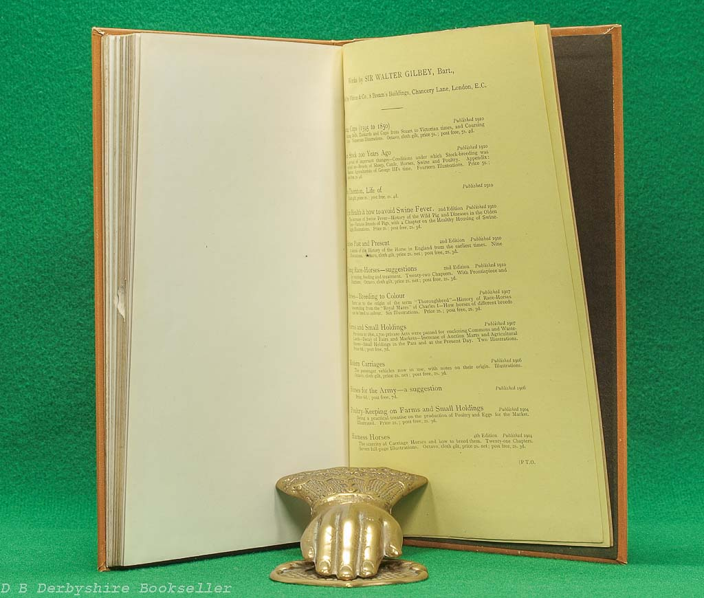 Racing Cups 1559 to 1850 Coursing Cups | Sir Walter Gilbey | Vinton & Co., 1st edition 1910