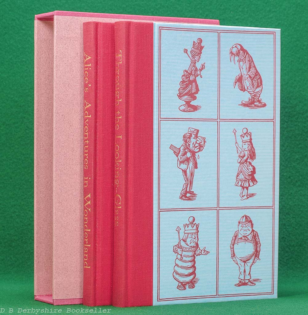 Alice's Adventures in Wonderland and Through the Looking Glass by Lewis Carroll (The Folio Society, 1993)