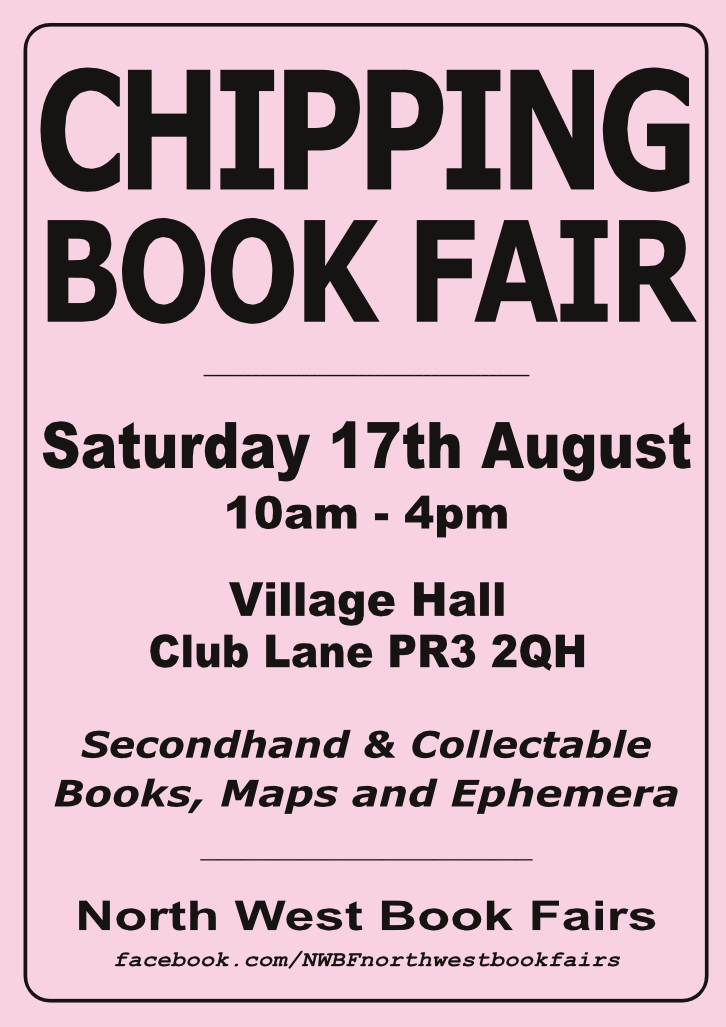 Chipping Book Fair | 17 August 2019 | Poster
