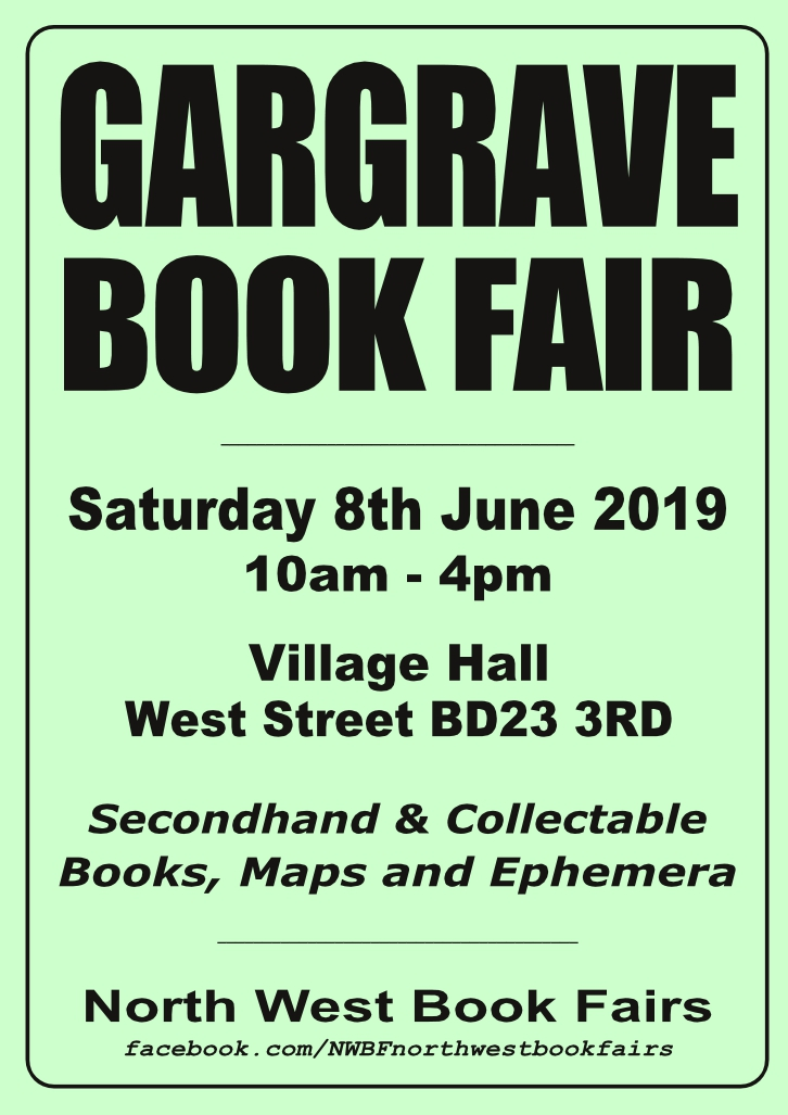 Gargrave Book Fair | 8 June 2019 | Poster