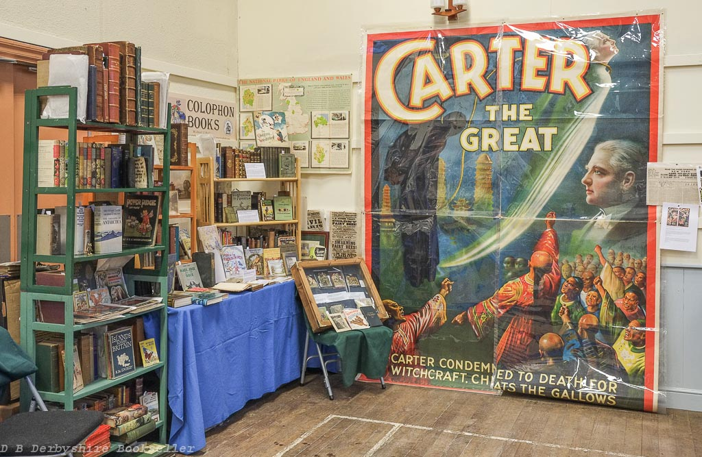 Grasmere Book Fair | 2017 | Carter the Great poster (c1920) offered by Colophon Books