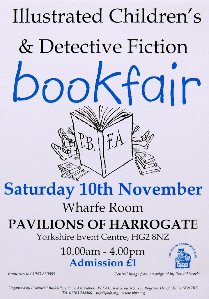 Northern Illustrated, Children's and Detective Fiction Book Fair | 2018 | Poster