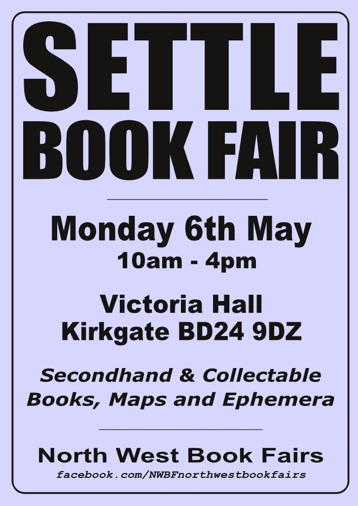Settle Book Fair | 6 May 2019 | Poster