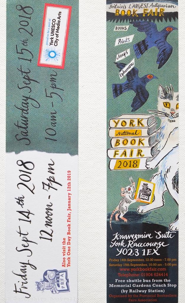 York Book Fair | 2018