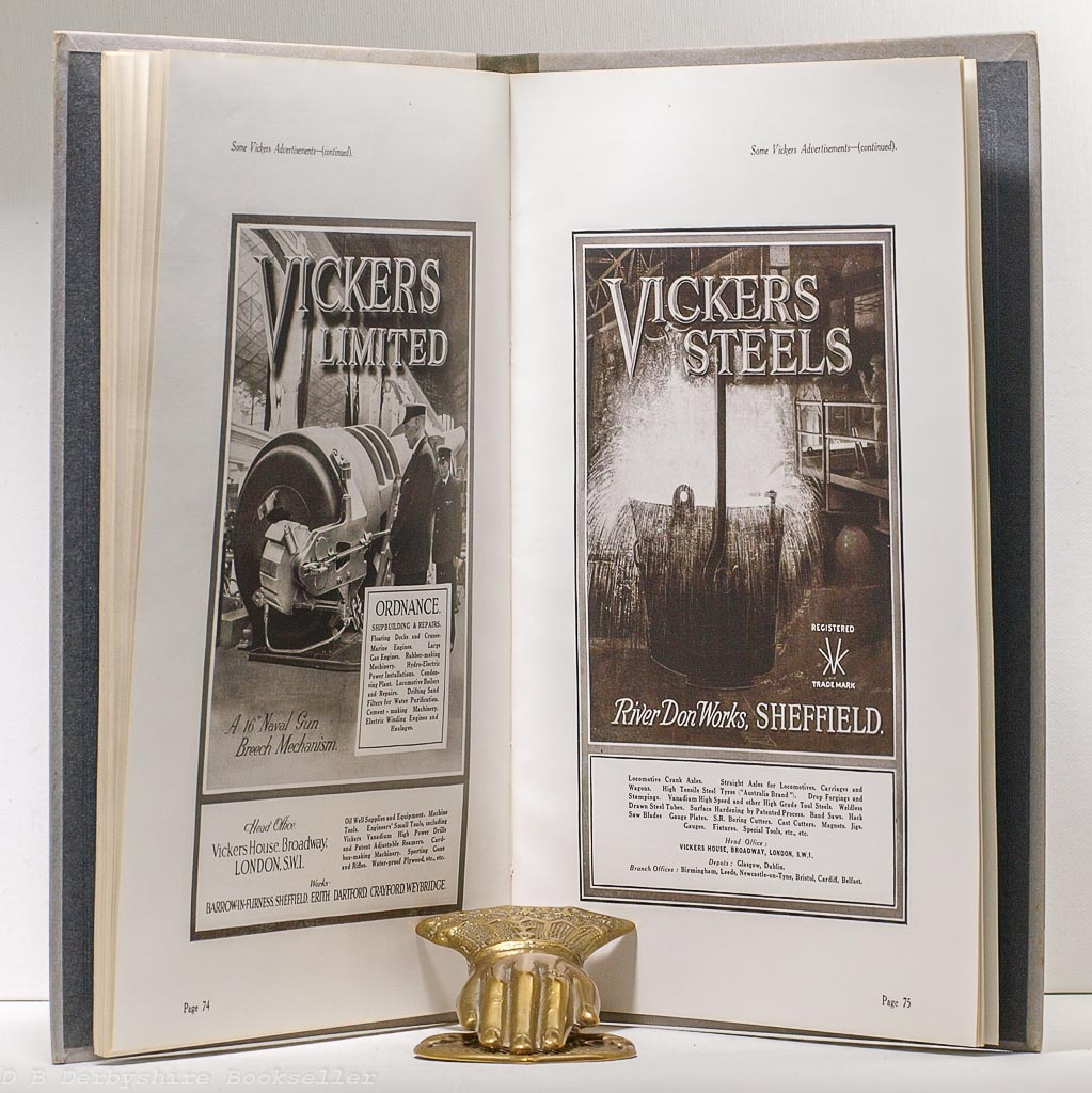 The Activities of Vickers Limited | Vickers, circa 1923 | Publicity Brochure with Colour Plates