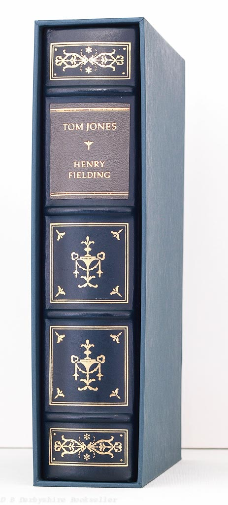 Tom Jones by Henry Fielding | Franklin Library/Oxford, 1984 | The Oxford Library of The World's Greatest Books | Full Leather Decorative Binding