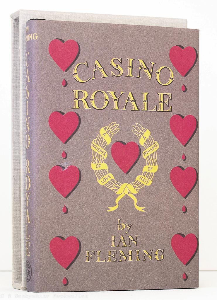 Casino Royale by Ian Fleming (First Edition Library) FEL Facsimile Editions