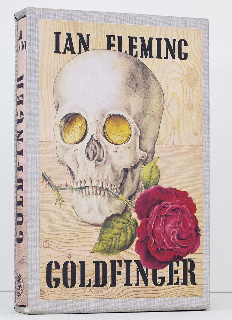Goldfinger by Ian Fleming (First Edition Library) FEL Facsimile Editions