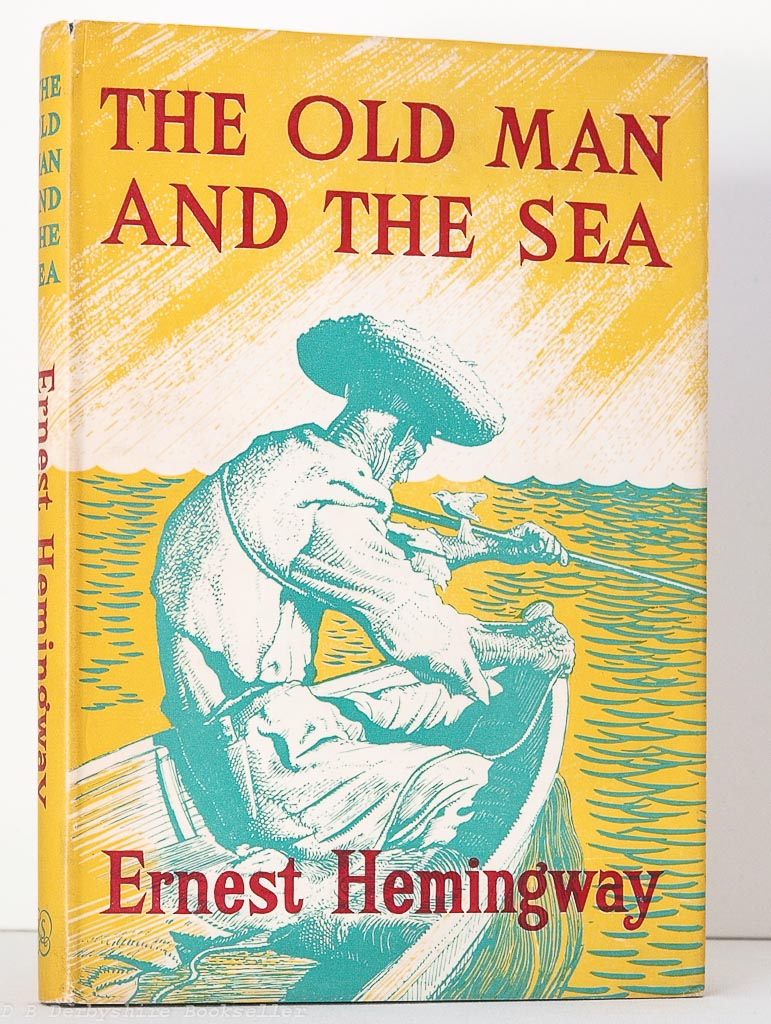The Old Man and the Sea | Ernest Hemingway | The Reprint Society, 1953 | Charles Tunniclffe | Raymond Sheppard