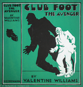 Lynette Passy (Artist) | Original Artwork | Club Foot - The Avenger by Valentine Williams
